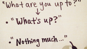 """""""What's up?"""" ー Whatを使った挨拶"""