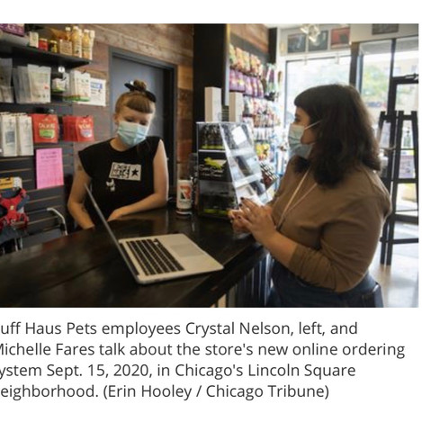 Check us out in the Chicago Tribune!