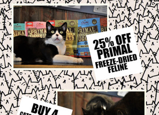 PURRFECTLY GOOD DEALS ALL MAY!
