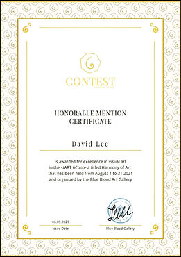 Certificate Honor Start