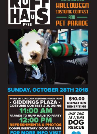 Annual Pet Parade & Costume Contest!