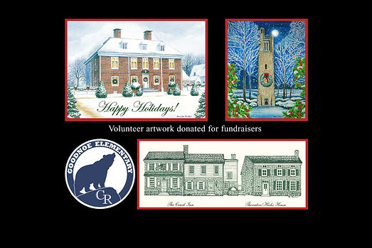Pennsbury Manor and Bowmans Tower for BARC, Goodnoe Elementary, and Newtown Historic Association