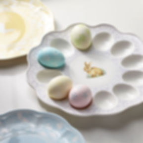 Colors of Spring Lavender Egg Tray photo