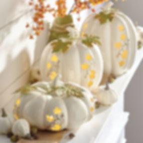 Lighted pumpkin centerpieces.jpg