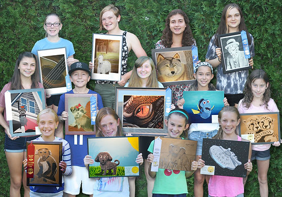 youth art lessons in Newtown PA