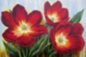 Oil painting by Newtown PA artist Bonnie Porter