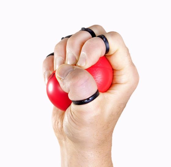 handmaster plus - rood - vierkant