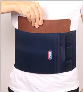 Low back brace recht + leer