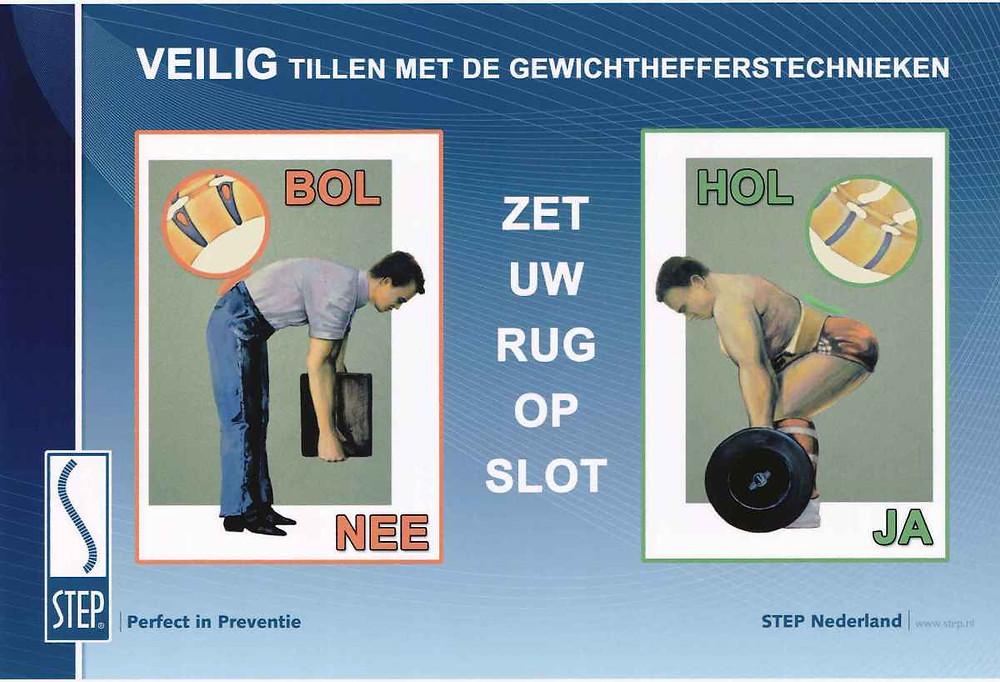 STEP Affiche ruggebruik