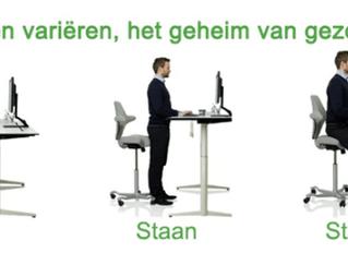 ERGONOMIE: zitten of staan?