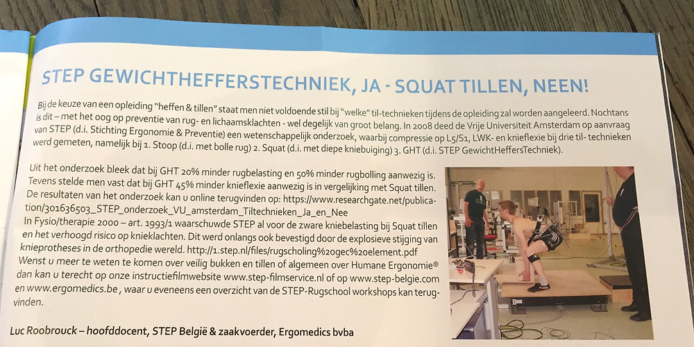 STEP GewichtHeffersTechniek in Veiligheidsnieuws 52ste jaargang