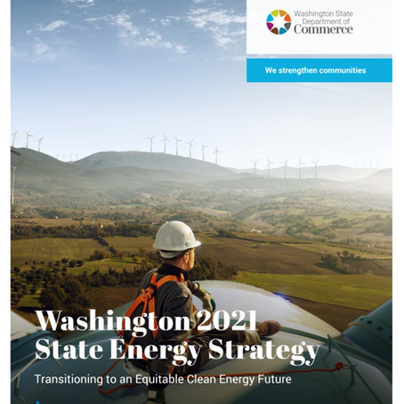 Washington 2021 State Energy Strategy