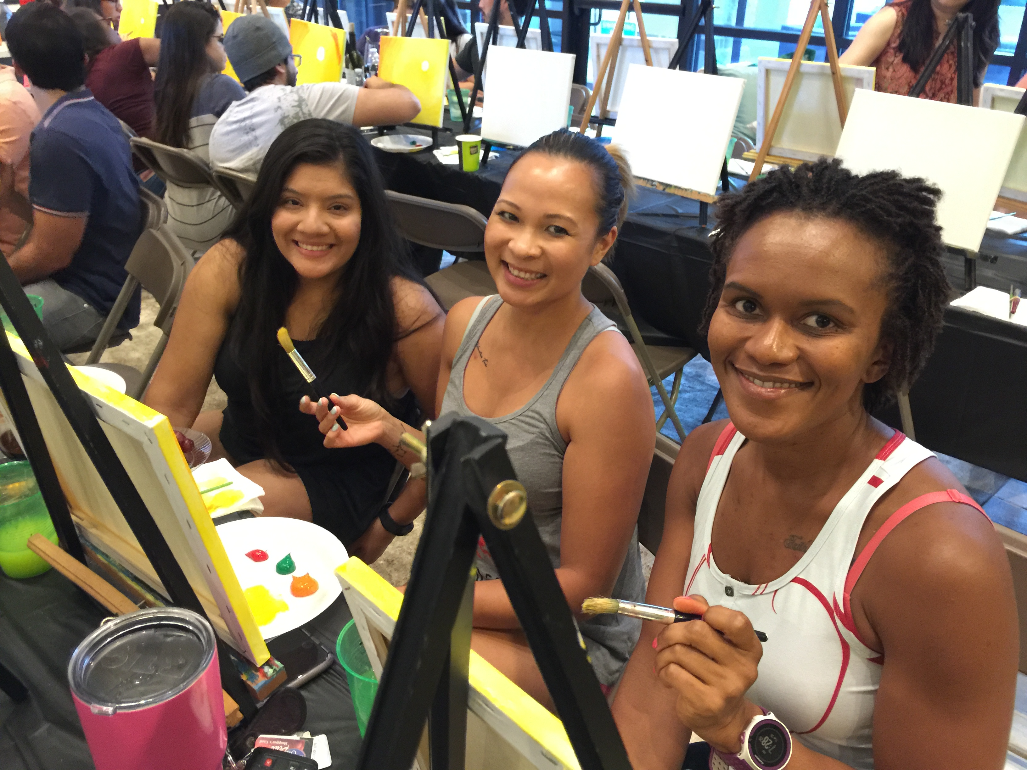 community paint party