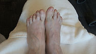 Picture of properly cared for healthy feet