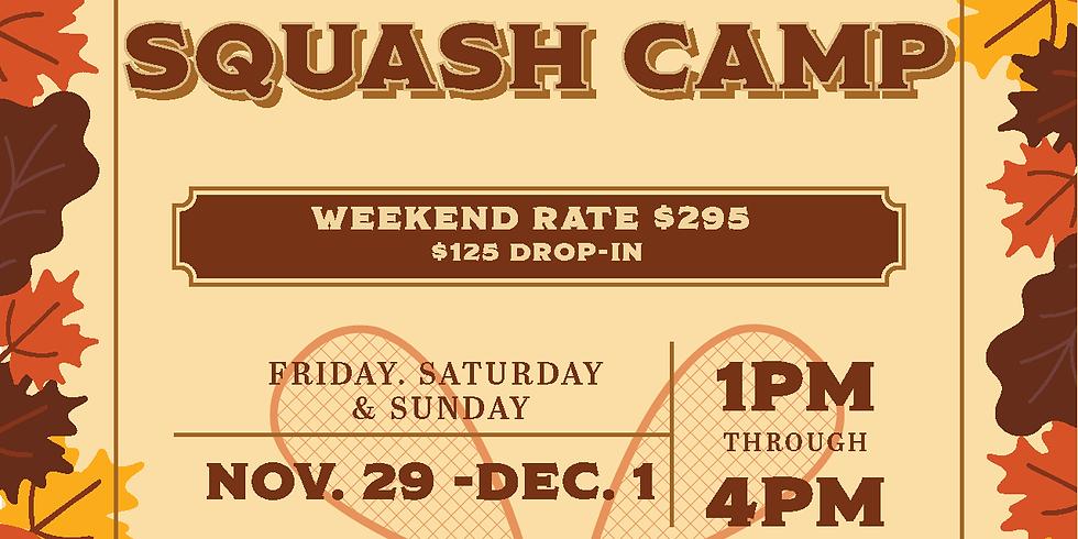 Thanksgiving Squash Camp
