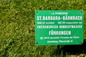 Pfarrkirche Bärnbach, Hundertwasserkirche, Steiermark, Österreich