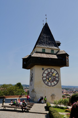 Der Uhrturm Graz Steiermark