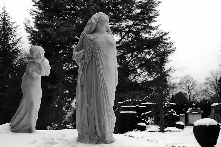 Zürich Friedhof Enzenbühl, Schweiz, Switzerland