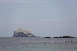 Blick zur Insel Craigleith
