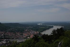Braunsberg, Hainburg an der Donau, Donau, Hundsheimer Berge, Karpaten, Niederösterreich, Österreich