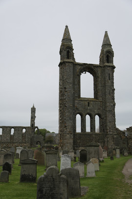 St. Andrews Cathedral, Eastern Cemetery, Fife, Historic Scotland, Alba Aosmhor