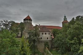 Burg Schlaining, Burg, Rittersaal, Friedensmuseum, Burgturm, Stadtschlaining, Burgenland, Österreich