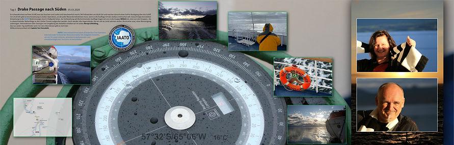 Drake Passage nach Süden