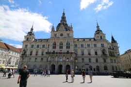 Rathaus Graz Steiermark