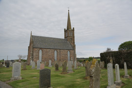 St. Cyrus Church and Cemetery, Montrose, Aberdeenshire