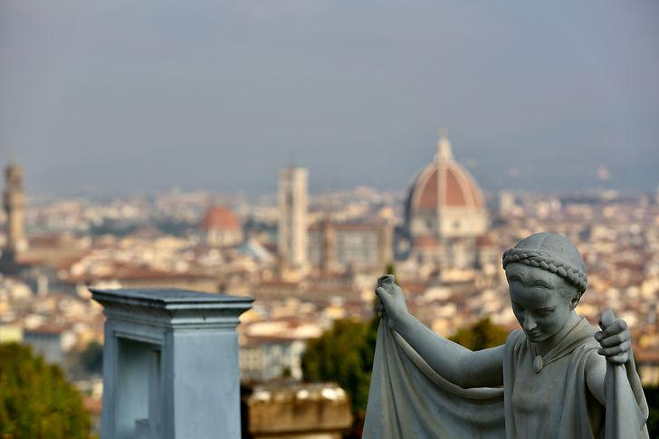 Florenz, Friedhof der heiligen Türen / Firenze, Cimitero delle Porte Sante
