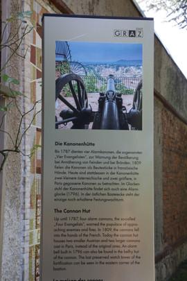 Die Kanonenhütte Graz Steiermark