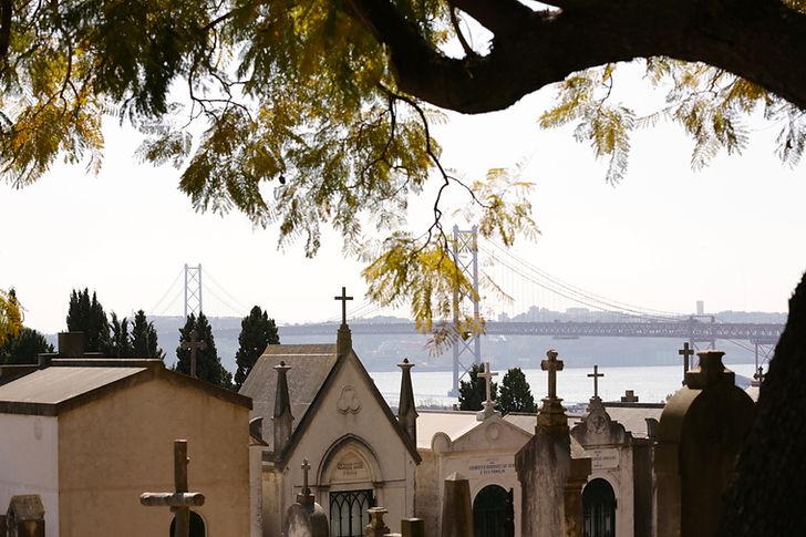 Lissabon, Friedhof der Freuden / Cemitério dos Prazeres