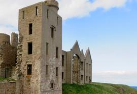 Slain's Castle, Cruden Bay, Aberdeenshire, Dracula, Bram Stroker