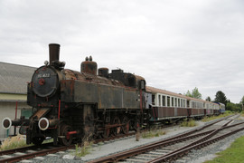 Bahnhof, Burgenland, Österreich