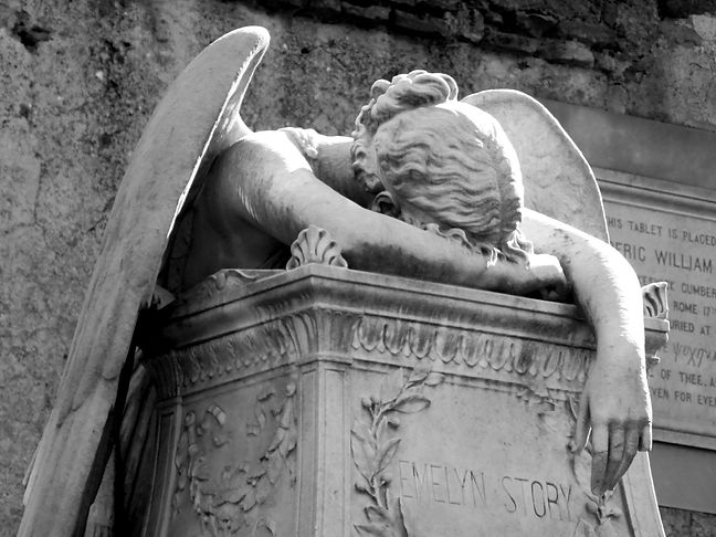 Rom, Der Protestantische Friedhof / Cimitero Acattolico di Roma