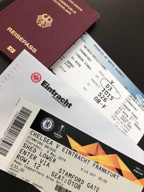 Europa League, Halbfinale, London, Stamford Bridge, FC Chelsea, Eintracht Frankfurt, 4:3 iE, Fan- und Förderabteilung, Zuhause in Europa, SGE