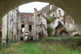 Hohenegg, Höhenburg, Burg, Ruine, Hafnerbach, Niederösterreich, Österreich