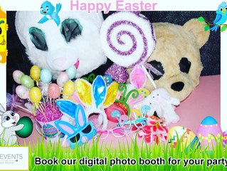 Easter Themed Photo Booths