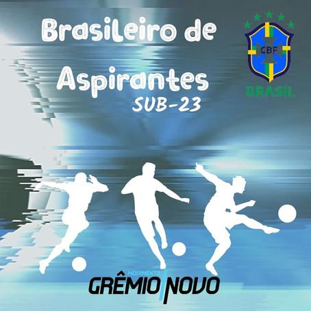Grêmio está preparado para o Brasileiro de Aspirantes!