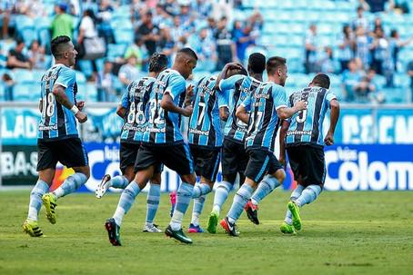 Grêmio continua na corrida em busca da liderança