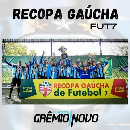 Grêmio goleia Inter e conquista Recopa Gaúcha de Futebol 7!