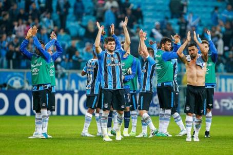 Grêmio viaja para o Rio em busca da 2ª colocação