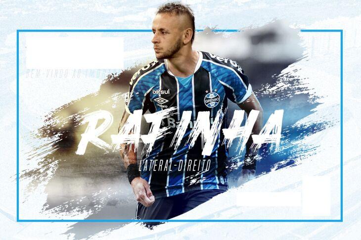 Grêmio define a contratação do atleta Rafinha!
