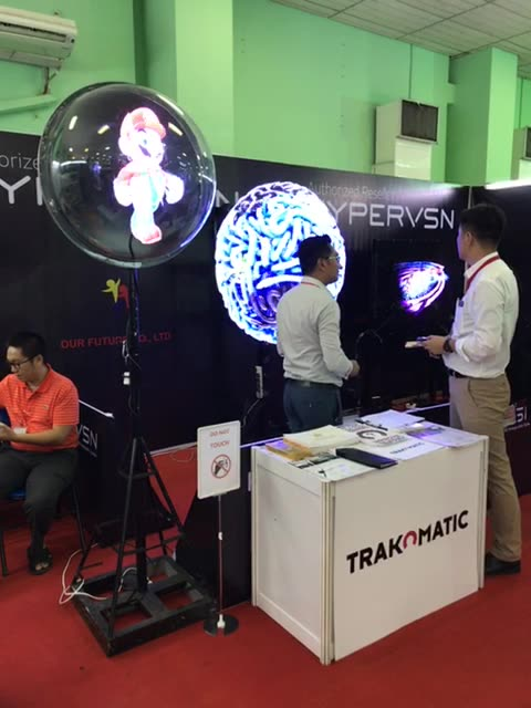 Trakomatic @ Yangon ICT Fair!