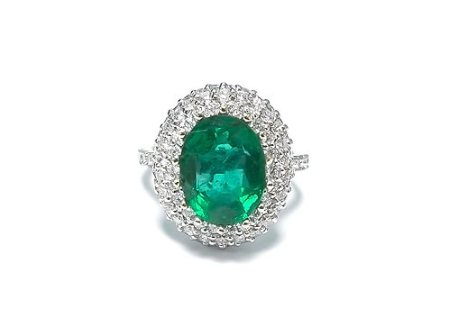 Emerald Oval Ring 2.30 cts