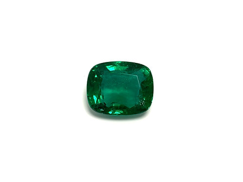 Emerald Cushion 5.04 cts