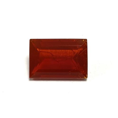 Fire Opal Baguette 3.41 Cts