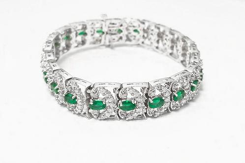 Emerald Bracelet 4.62 cts