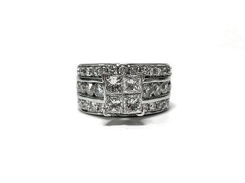 Diamond Ring 3.8 cts