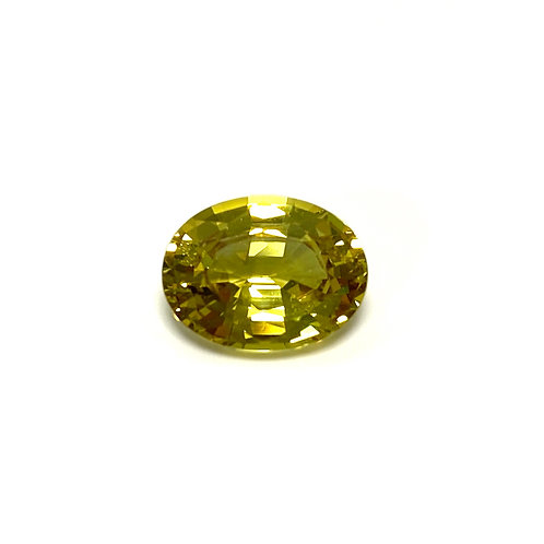 Sapphire Oval 3.67 cts